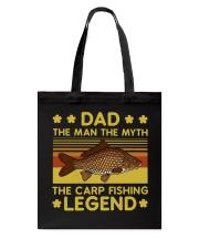 Fishing Dad The Carp Fishing Legend Tote Bag tile