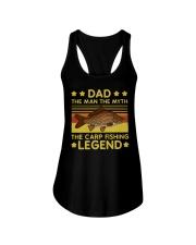 Fishing Dad The Carp Fishing Legend Ladies Flowy Tank tile