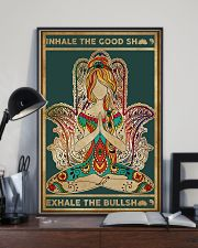 Yoga Inhale In The Good 11x17 Poster lifestyle-poster-2