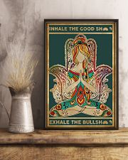 Yoga Inhale In The Good 11x17 Poster lifestyle-poster-3