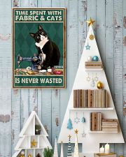 Sewing Time Spent With Cats Poster 11x17 Poster lifestyle-holiday-poster-2