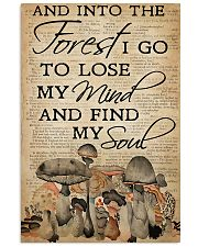 Mushroom And Into The Forest 11x17 Poster front