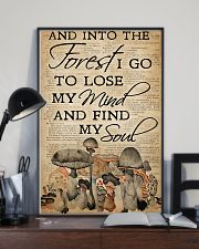 Mushroom And Into The Forest 11x17 Poster lifestyle-poster-2
