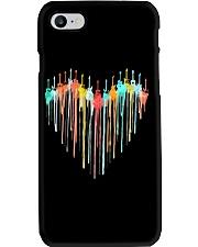 Guitar Colorful Heart Phone Case tile