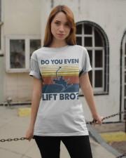 Skiing Do You Even Lift Bro Classic T-Shirt apparel-classic-tshirt-lifestyle-19