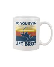 Skiing Do You Even Lift Bro Mug tile