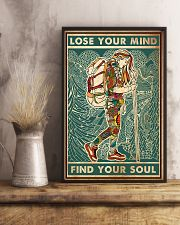 Hiking Lose Your Mind 11x17 Poster lifestyle-poster-3