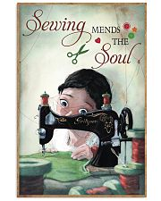 Sewing Mends The Soul Poster 11x17 Poster front