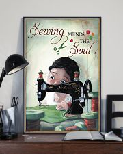 Sewing Mends The Soul Poster 11x17 Poster lifestyle-poster-2