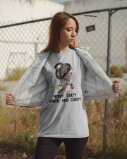 Books Nerdy Dirty Inked And Curvy Classic T-Shirt apparel-classic-tshirt-lifestyle-07