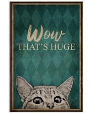 CAT WOW THAT'S HUGE 16x24 Poster front