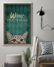 CAT WOW THAT'S HUGE 16x24 Poster lifestyle-poster-1
