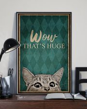 CAT WOW THAT'S HUGE 16x24 Poster lifestyle-poster-2