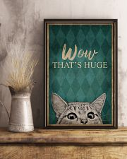CAT WOW THAT'S HUGE 16x24 Poster lifestyle-poster-3