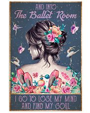 BALLET AND INTO THE BALLET ROOM 16x24 Poster front