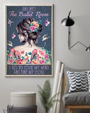 BALLET AND INTO THE BALLET ROOM 16x24 Poster lifestyle-poster-1