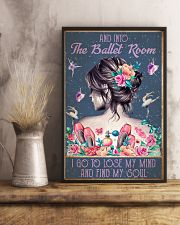 BALLET AND INTO THE BALLET ROOM 16x24 Poster lifestyle-poster-3