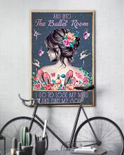 BALLET AND INTO THE BALLET ROOM 16x24 Poster lifestyle-poster-7