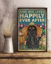 Cat And She Lived Happily Ever After 16x24 Poster lifestyle-poster-3
