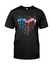 Garden Heart Flag Classic T-Shirt front