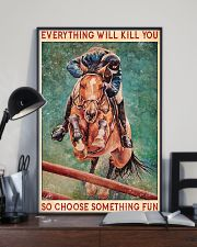 HORSE EVERYTHING WILL KILL YOU 11x17 Poster lifestyle-poster-2
