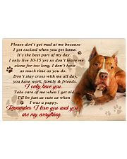 Pit Bull Remember I Love You 17x11 Poster front