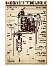 Tattoo Anatomy Of A Tattoo Machine 11x17 Poster front