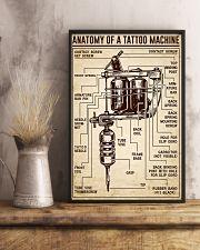 Tattoo Anatomy Of A Tattoo Machine 11x17 Poster lifestyle-poster-3