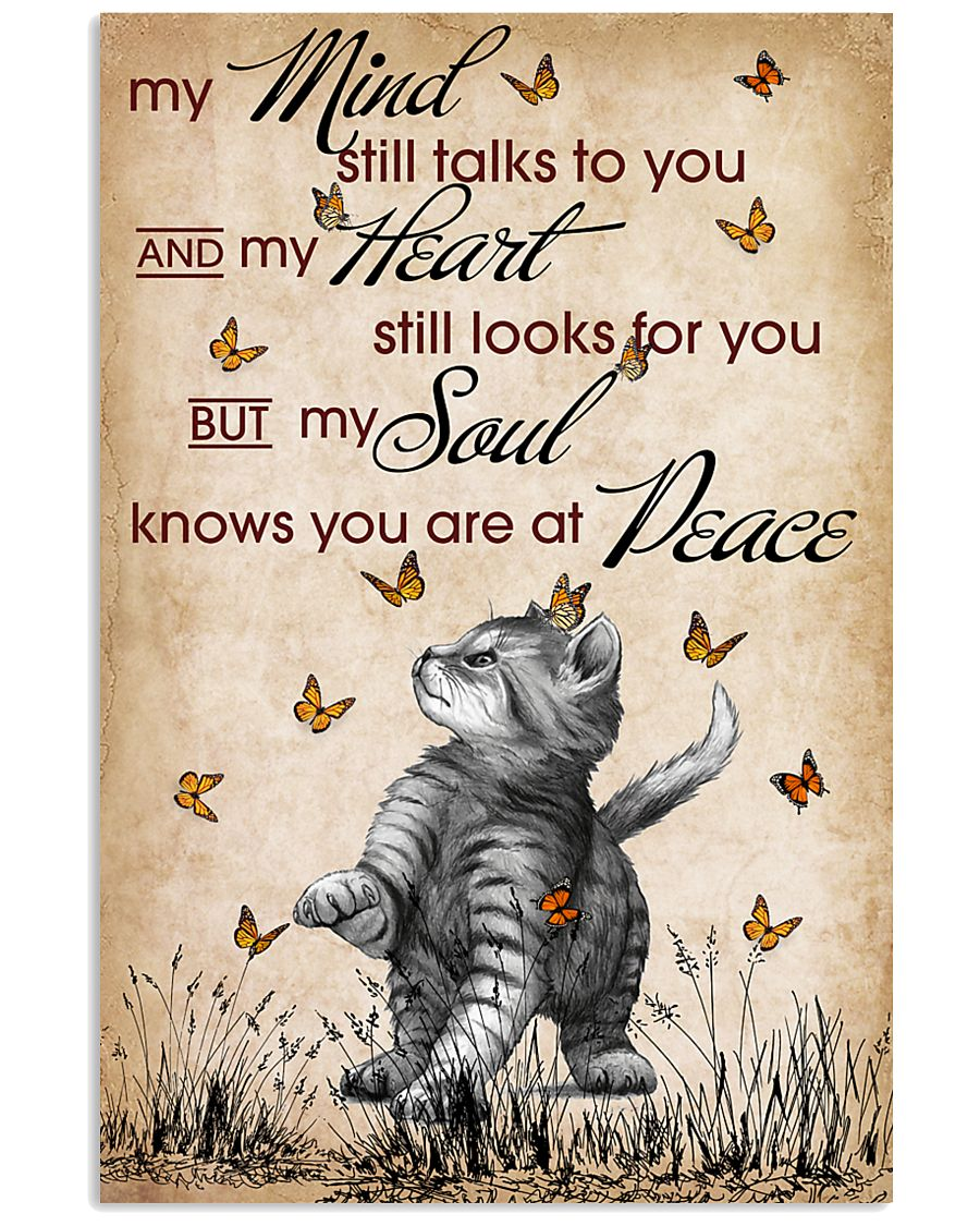 CAT MY MIND STILL TALKS POSTER 16x24 Poster