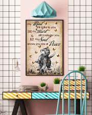 CAT MY MIND STILL TALKS POSTER 16x24 Poster lifestyle-poster-6