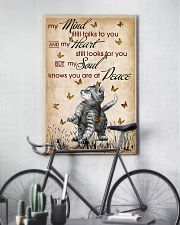 CAT MY MIND STILL TALKS POSTER 16x24 Poster lifestyle-poster-7