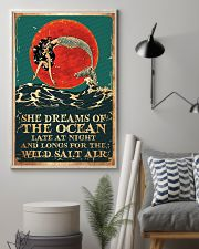 Mermaid She Dreams Of The Ocean Poster 11x17 Poster lifestyle-poster-1