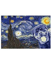 Rottweiler Van Gogh Style Poster 17x11 Poster front