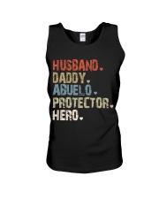Father Hero Protector Hero Unisex Tank tile