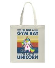 Gym Fitness I'm A Gym Unicorn Tote Bag tile