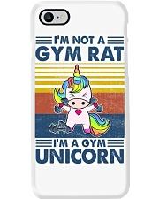 Gym Fitness I'm A Gym Unicorn Phone Case tile