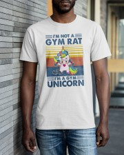 Gym Fitness I'm A Gym Unicorn Classic T-Shirt apparel-classic-tshirt-lifestyle-front-40