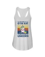 Gym Fitness I'm A Gym Unicorn Ladies Flowy Tank tile