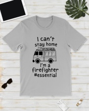 Firefighter I Can't Stay Home Classic T-Shirt lifestyle-mens-crewneck-front-17