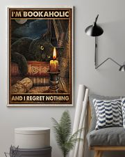 Book I'm Bookaholic And I Regret Nothing Poster 16x24 Poster lifestyle-poster-1