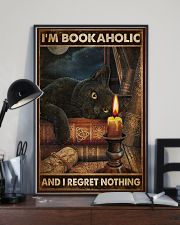 Book I'm Bookaholic And I Regret Nothing Poster 16x24 Poster lifestyle-poster-2