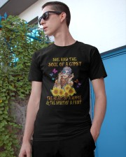 Hippie She Had The Soul Of A Gypsy Classic T-Shirt apparel-classic-tshirt-lifestyle-17