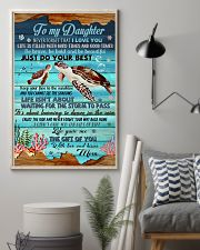 Turtle To My Daughter 11x17 Poster lifestyle-poster-1