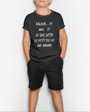 Raleur je suis juste le petit fils de mamie Youth T-Shirt lifestyle-youth-tshirt-front-1
