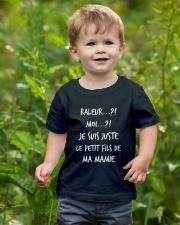 Raleur je suis juste le petit fils de mamie Youth T-Shirt lifestyle-youth-tshirt-front-3