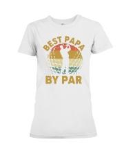 Best Papa By Par - Happy Father's day Premium Fit Ladies Tee thumbnail