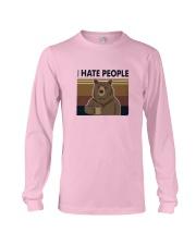 I Hate People Bear Long Sleeve Tee thumbnail