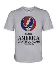 Make America Grateful Again V-Neck T-Shirt thumbnail