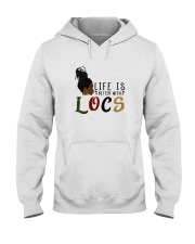 Life Is Better With Locs Hooded Sweatshirt thumbnail