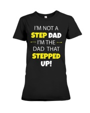 STEP DAD Premium Fit Ladies Tee thumbnail